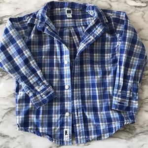 Janie & Jack toddler boys 2T button down